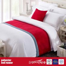 Poly-Dekoration Stoff Bett Läufer Fabrik