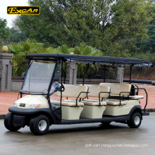 Custom 11 passengers cheap electric golf cart for sale sightseeing car tour bus