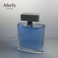 100мл синее море стеклянная Крышка стеклянная бутылка дух