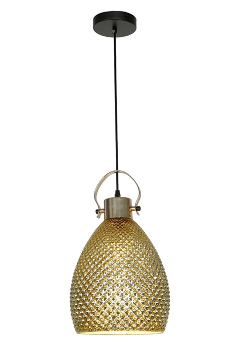 Golden Ceiling Light