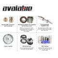 ac/dc Solar water pressure motor pump system borehole water pump 3 4inch 145M HEAD