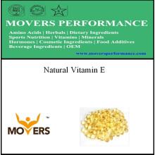 Vitamine E de qualité supérieure pure naturelle