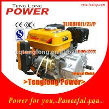 Kit de motor de Aircooling Motor 5,5 HP gasolina usando
