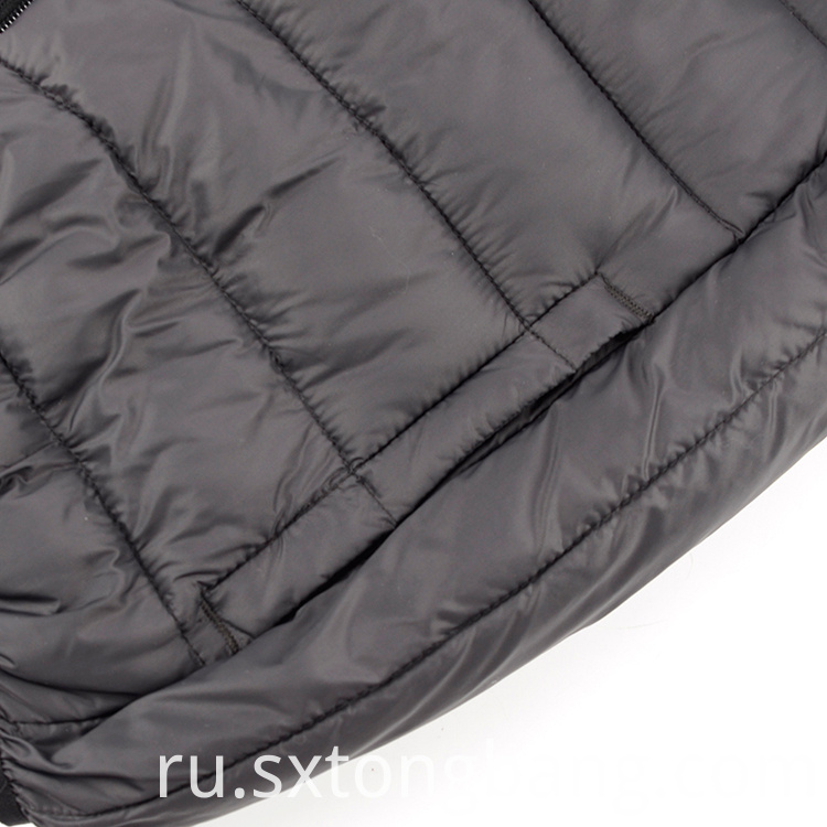 Men's Black Padded Vest