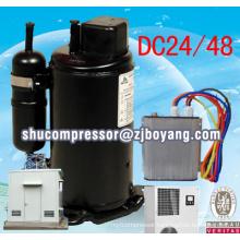 Original 100% Solar System 48V DC Solar Air Conditioner 9000BTU/1Hp Wall Split Air Conditioner Kompressor