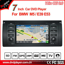 Windows Ce Auto DVD-Player für BMW 5er GPS Tracker mit GPS Navigation Hualingan