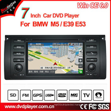 Windows Ce Car DVD Player for BMW 5 Series GPS Tracker with GPS Navigation Hualingan