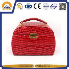 Custom Fashion Elegant PU Leather Cosmetic Bags
