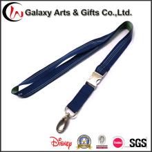 Colhedor de pescoço de poliéster tecido azul escuro / cinta