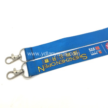 Economic Custom Printed Lanyards With Two Ends