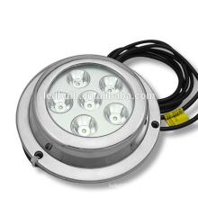 6x3W LED Marine Light/ boat underwater LED light/ yacht light