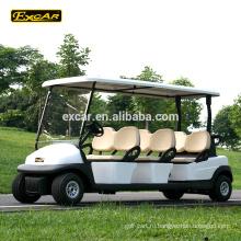 EXCAR 6 пассажиров дешевая электрическая тележка гольфа автомобиль гольфа Китая мини-автобус