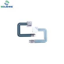 Одиночный металлический купольный мембранный переключатель с 2 контактами