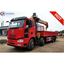 Brand New FAWJ6 14Tons Boom Truck Mounted Crane