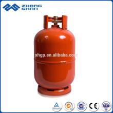 Produktionslinie 5 kg Gas-LPG-Flasche sicher getestet