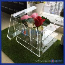 Yageli Hot Sale Clear Acrylic Waterproof Flower Box