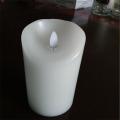 Flammenlose Funktion und ABS-Material dekorative Kerzen Kegel