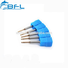 BFL Solid Carbide End Mill Long Neck Ball Nose End Mill Milling Cutter For Dental