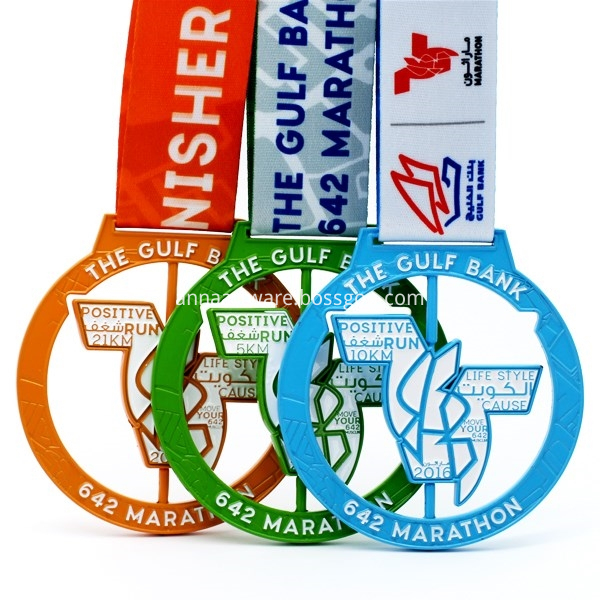 Sports Medals And Ribbons