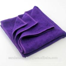 Checked microfiber dish cloth
