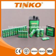 Carbon-Zink-Batterie mit guter Qualität und günstigen Preis
