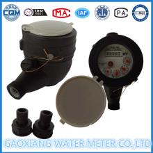 Nylon Multi-Jet Medidores de água de discagem a seco (DN15mm)