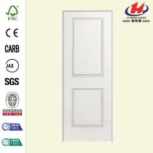 30 polegadas x 80 polegadas Liso 2-Panel Square Hollow Core Primed Composto Single Prehung Porta Interior