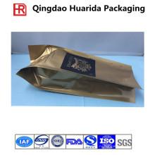 Изготовленный на заказ Бортовой мешок кофе в пакетиках/кофе в зернах мешок с клапаном