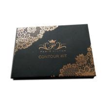 Wholesale custom design cardboard eyeshadow palette with logo