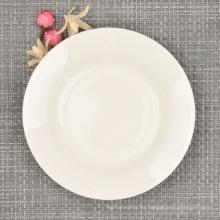 Plato de cena moderno Fine Bone China, vajilla de 6 pulgadas
