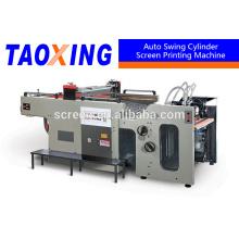 Línea de productos de pantalla de seda automática de alta eficiencia para etiquetas de cerámica