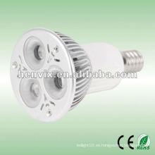 E14 Proyector LED de alta potencia al aire libre 3W