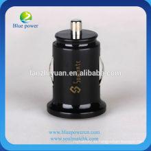 Cargador universal dual del coche del dual-usb, carga del coche del teléfono móvil 5V1A / 2.1A, para iphone / ipad / samsung
