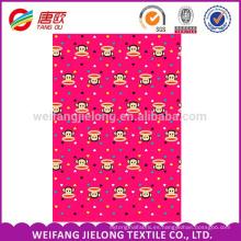 impresión barata 100% tela de algodón para ropa de cama de algodón