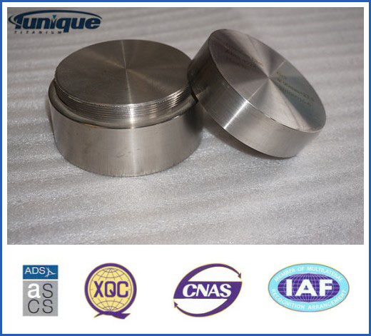 Gr2 Titanium Disc with ASTM B381