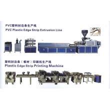 Linha de produção da tira da borda de borda da mobília do PVC