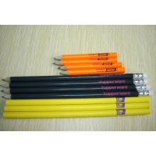 Lápices de madera cortos promocionales respetuosos del medio ambiente de alta calidad Tc-P004