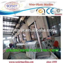 HDPE PP PE tubes pipes extrusion line