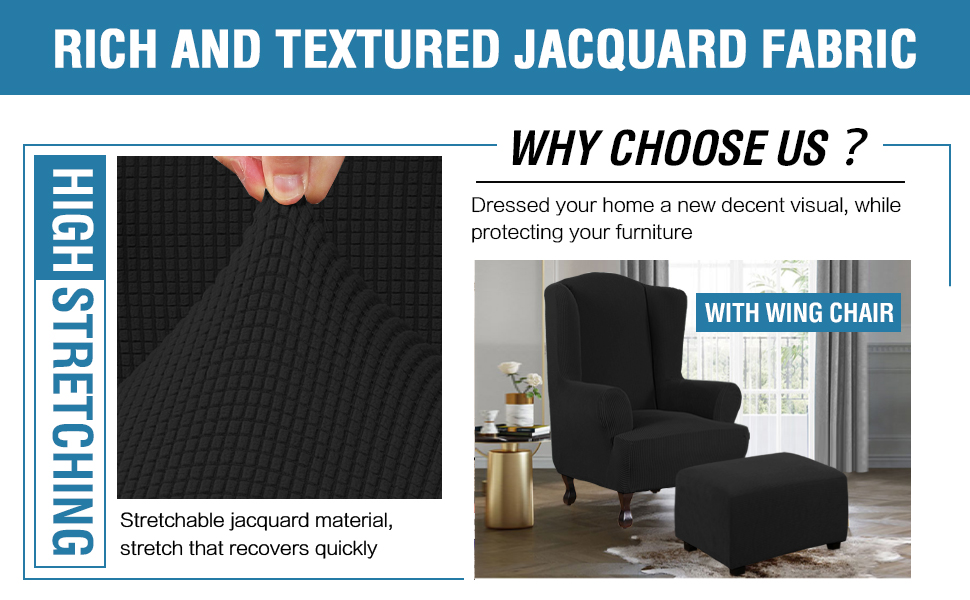 Good Quality Black Sofa Covers