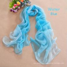 New color glitter printe multicolor shimmer long silk feel chiffon shawls pashmina winter chiffon muslim hijab scarves/scarf