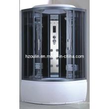 Cubo de ducha de vidrio templado de control informático (AC-65)