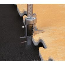 usado esteira de madeira do assoalho da grão da espuma de madeira eva