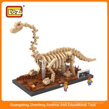 3D Mini puzzle toy plastic dinosaur for kids