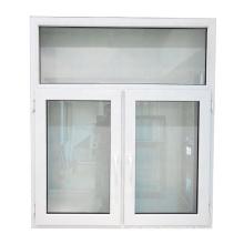 Double pane pvc windows China plate glass window prices