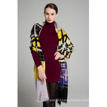 Elegent European Brand Fashion Pashmina Shawl