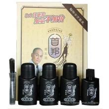 Produit de traitement de croissance des cheveux Sunburst pour lutter contre la chute des cheveux (4 bouteilles dans un ensemble en version chinoise)