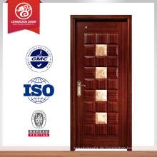 2014 neue Holzkorn Innenglas Französisch Türen Design aus China