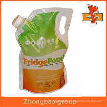 Soap Liquid Spout Pouch / Nylon embalagem saco para líquido
