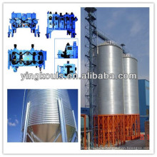 Spiral Steel Silo Making Machine for building the storage