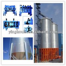 Машина для изготовления спиральных стальных силосов